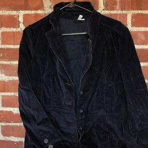 Saint Johns Bay navy corduroy jacket